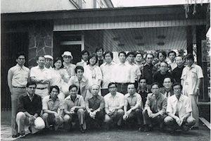 1980年北海道合宿にて